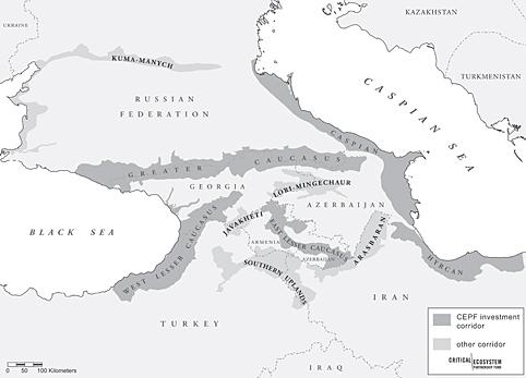 Caucasus   CEPF on