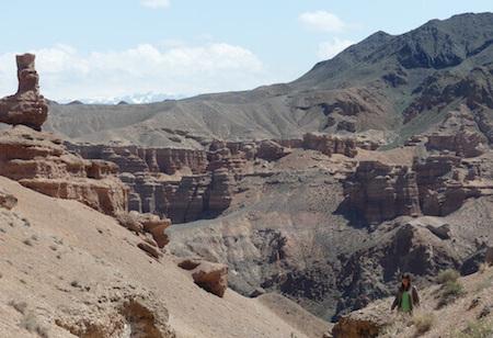Dry, canyon environment.