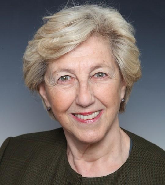Close-up of Julia Marton-Lefèvre