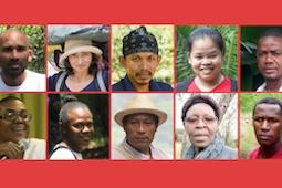A block of photos showing the faces of CEPF's Hotspot Heroes.