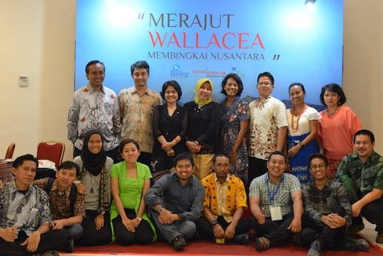 Members of the Wallacea Regional Implementation Team.